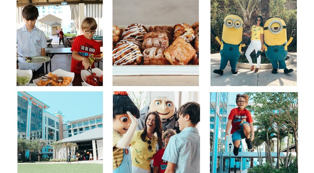 UNIVERSAL ORLANDO RESORT | DESPICABLE ME CHARACTER BREAKFAST