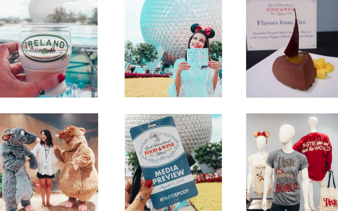 DISNEY | NEW AT EPCOT'S FOOD AND WINE 2018