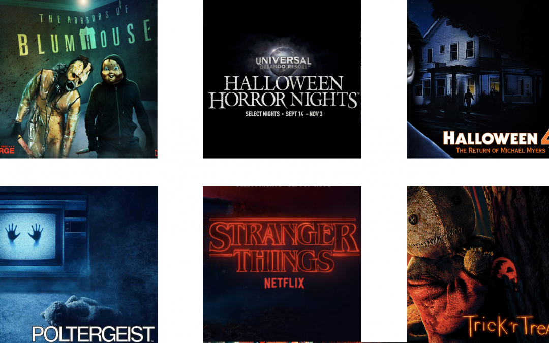 UNIVERSAL ORLANDO | HALLOWEEN HORROR NIGHTS HOUSES