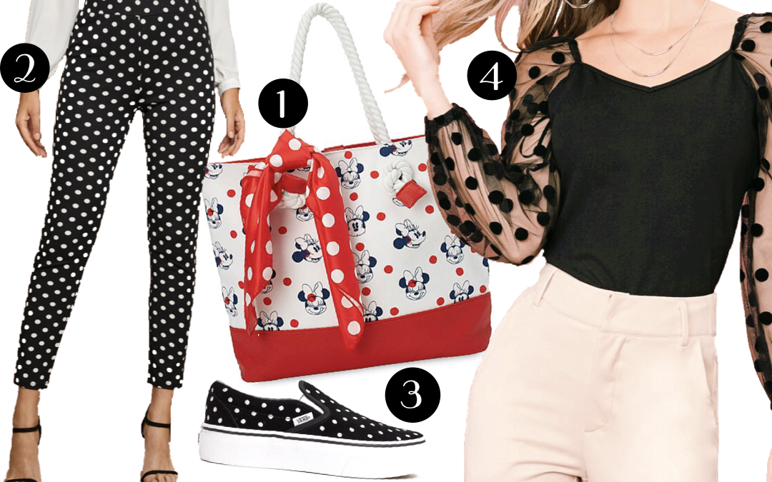 Minnie Style for National Polka Dot Day