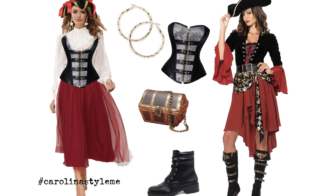 Disney Halloween Costume Ideas, Pirate of Caribbean bound, fantasia de pirata