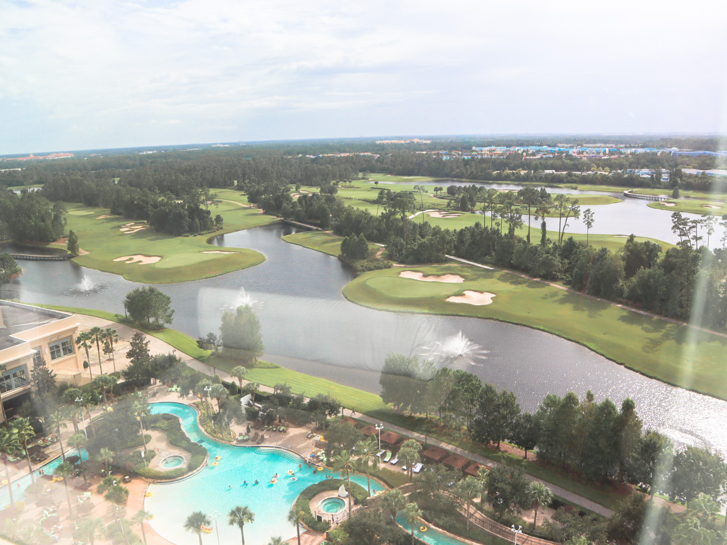 Hilton Bonnet Creek Resort view