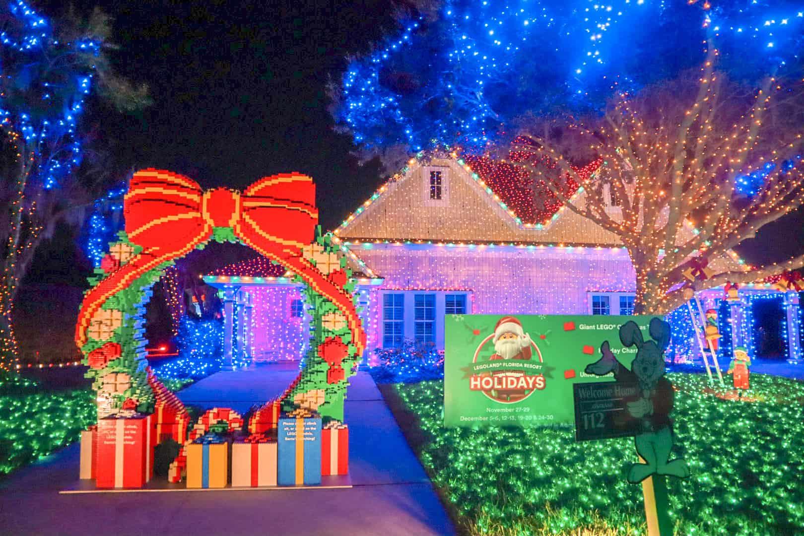 Legoland Villa at A Night of a Million Lights