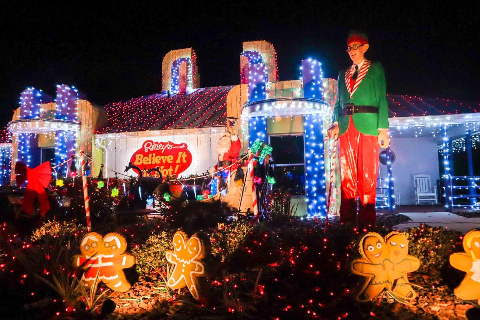 Ripley's Villa at A Night of a Million Lights
