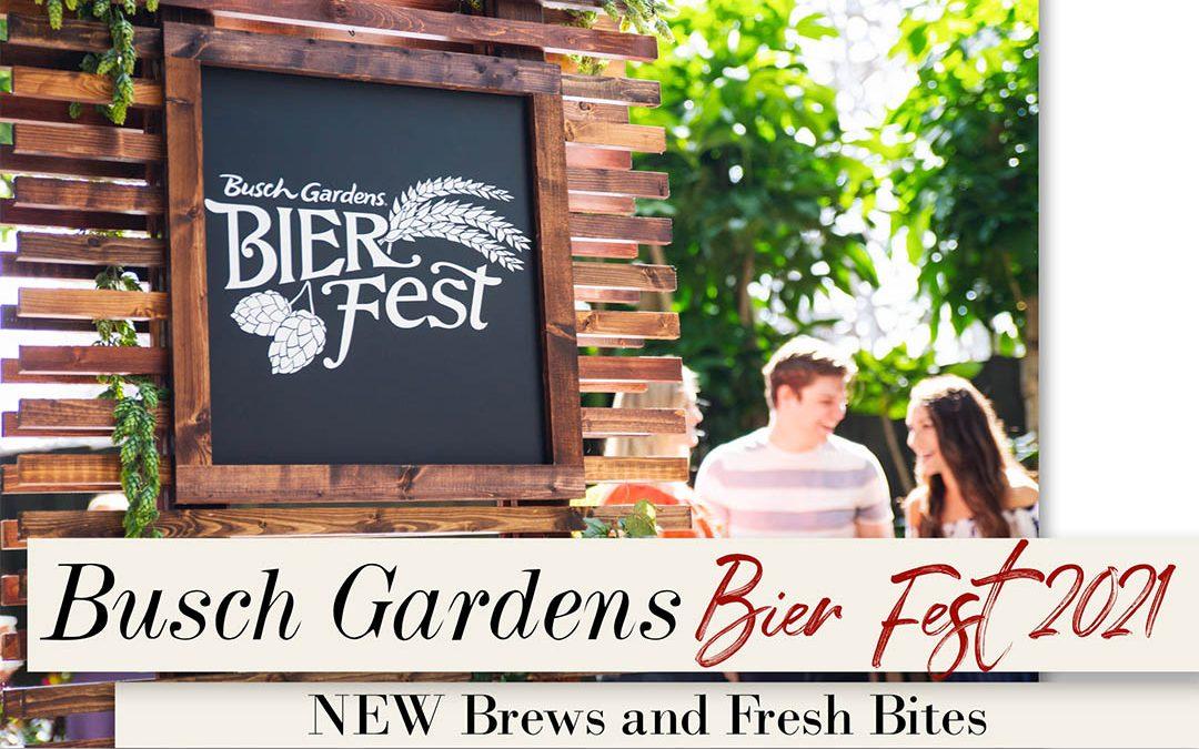 Busch Gardens Bier Fest 2021