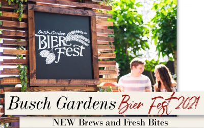 BUSCH GARDENS  BIER FEST IS COMING BACK WITH NEW BREWS AND FRESH BITES