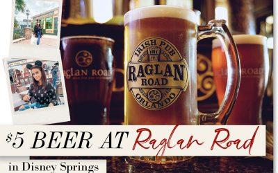 RAGLAN ROAD CELEBRATES INTERNATIONAL BEER DAY WITH $5 BREWS
